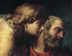 Иванов А. А. Головы апостолов — юноши и старика