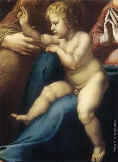 Иванов А. А. Младенец Христос