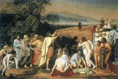 Иванов А. А. Явление Христа народу