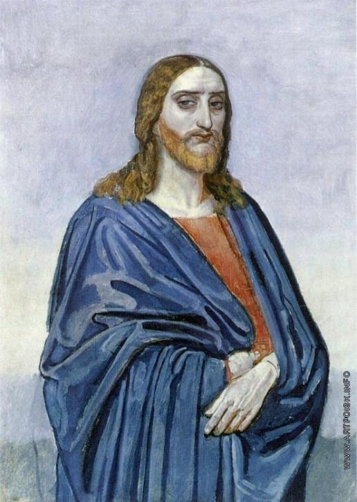 Иванов А. А. Фигура Христа (поколенная)