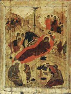 Рублёв А. Рождество Христово