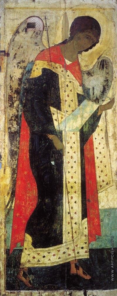 Рублёв А. Архангел Михаил. Цикл икон деисусного чина иконостаса Успенского собора во Владимире