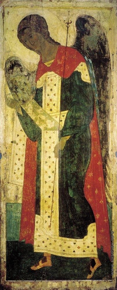 Рублёв А. Архангел Гавриил. Цикл икон деисусного чина иконостаса Успенского собора во Владимире