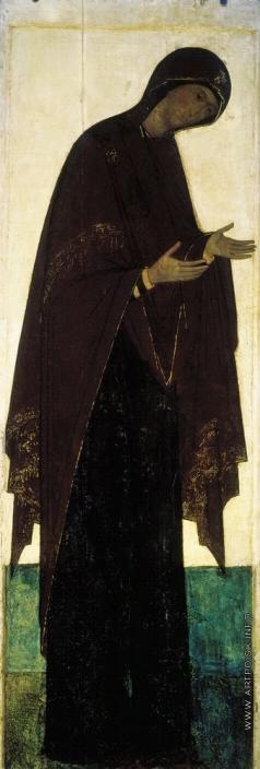 Рублёв А. Богоматерь. Цикл икон деисусного чина иконостаса Успенского собора во Владимире
