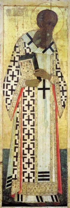 Рублёв А. Григорий Богослов. Цикл икон деисусного чина иконостаса Успенского собора во Владимире