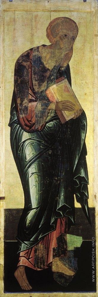 Рублёв А. Иоанн Богослов. Цикл икон деисусного чина иконостаса Успенского собора во Владимире