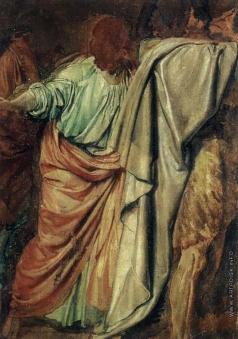 Иванов А. А. Иоанн Креститель, Иоанн Богослов и прислушивающийся (группа)