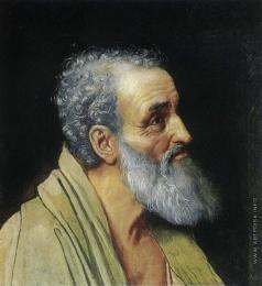 Иванов А. А. Апостол Андрей (погрудное изображение: тип, отличный от типа апостола Андрея на картине)