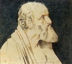 Иванов А. А. Апостол Андрей (погрудное изображение)