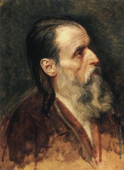 Иванов А. А. Полуфигура апостола Андрея