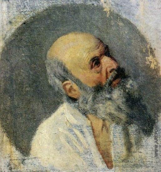 Иванов А. А. Голова старика (в повороте апостола Андрея)