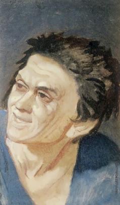 Иванов А. А. Голова раба с короткими торчащими волосами