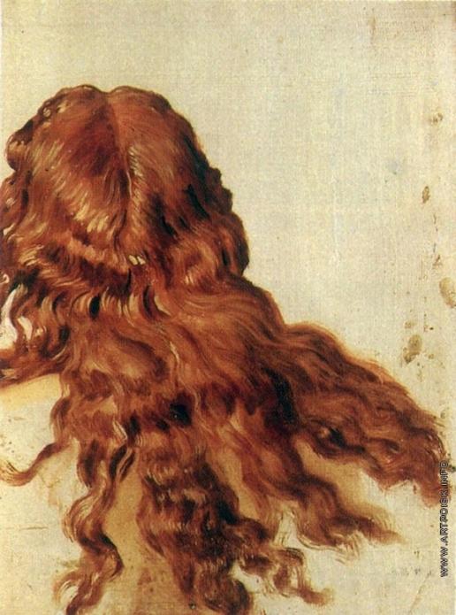 Иванов А. А. Рыжие волосы (для головы обнаженного юноши, повернувшегося спиной)