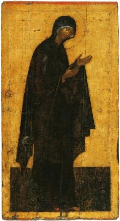 Грек Ф. Богоматерь. Икона деисусного чина иконостаса Благовещенского собора Московского Кремля