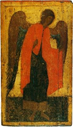 Грек Ф. Архангел Михаил. Из деисусного чина Благовещенского собора Московского Кремля