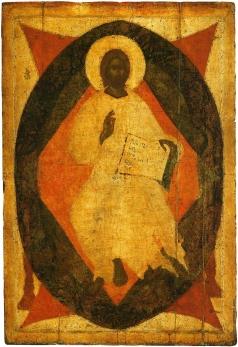 Грек Ф. Спас в силах Из деисусного чина Благовещенского собора Московского Кремля