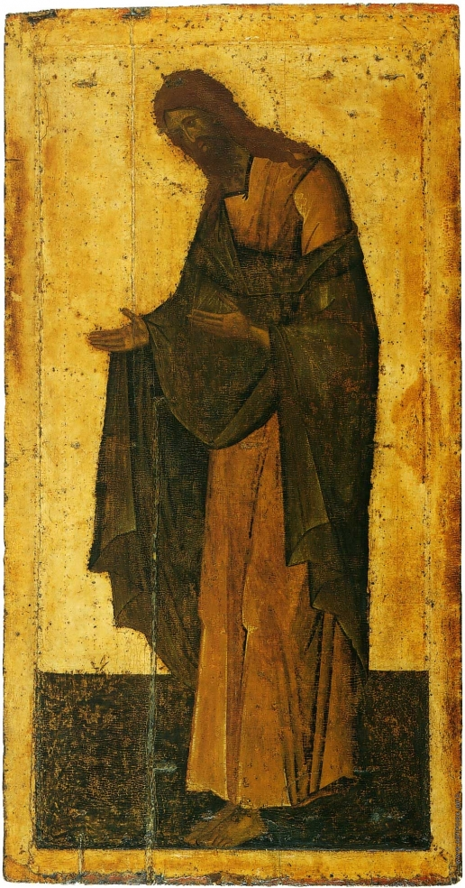 Грек Ф. Иоанн Предтеча. Из деисусного чина Благовещенского собора Московского Кремля