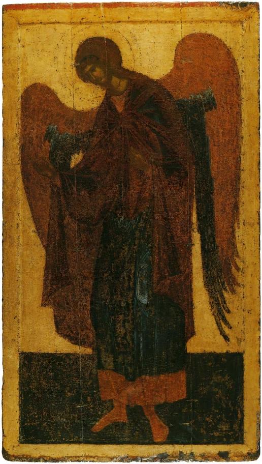 Грек Ф. Архангел Гавриил. Из деисусного чина Благовещенского собора Московского Кремля