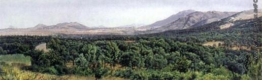 Иванов А. А. Монтичелли (Тиволийские горы)