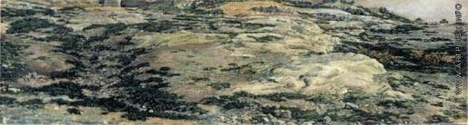 Иванов А. А. Земля и камни около стен монастыря Святого Павла в Альбано