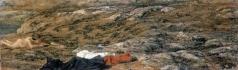 Иванов А. А. Земля выше кладбища капуцинов в Альбано, с фигурой мальчика
