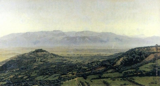 Иванов А. А. Вид Римской Кампаньи