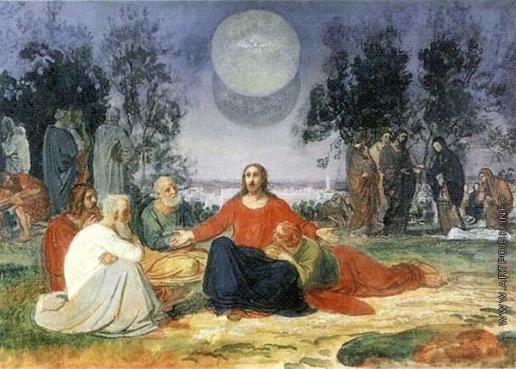 Иванов А. А. Проповедь Христа на горе Елеонской о втором пришествии