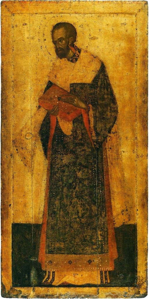 Грек Ф. Иоанн Златоуст. Из деисусного чина иконостаса Благовещенского собора Московского Кремля