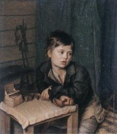 Зеленцов К. А. Мальчик у стола