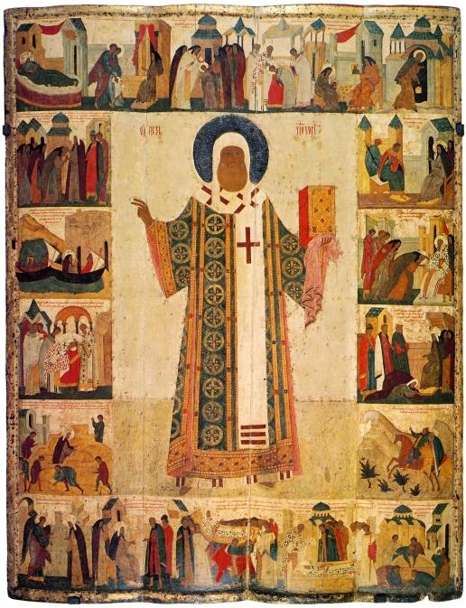 Дионисий Митрополит Алексий с житием