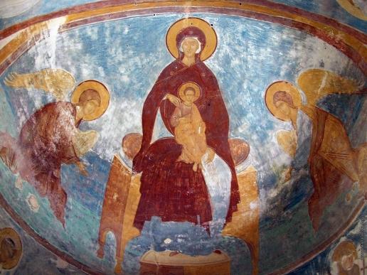 Дионисий Похвала Богородице. Роспись церкви Рождества Богородицы в Ферапонтовом монастыре