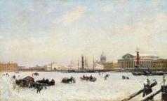 Беггров А. К. Петербург зимой