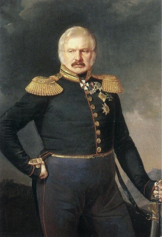 Захаров П. З. Портрет А.П. Ермолова