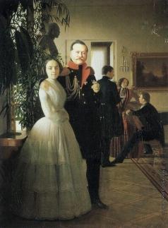 Зарянко С. К. Портрет семьи Ростовцевых
