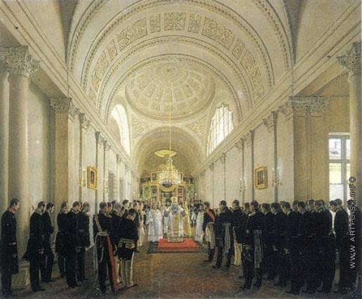 Зарянко С. К. Служение митрополита Никанора в церкви Училища правоведения