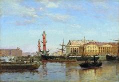 Беггров А. К. Петербург со стороны Невы