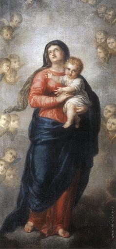 Залесский Я. Богоматерь с младенцем