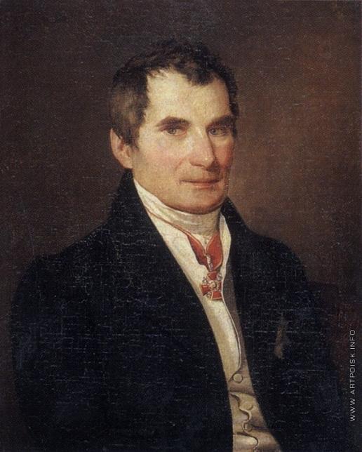 Заболотский П. Е. Портрет неизвестного с орденом Святой Анны 2-й степени