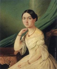 Жуков Д. С. Портрет Минеевой