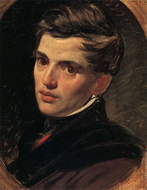 Брюллов К. П. Портрет архитектора Александра Брюллова, брата художника