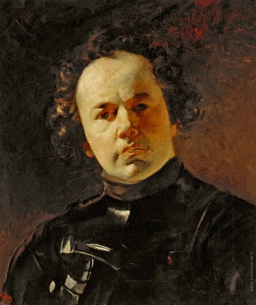 Брюллов К. П. Портрет художника Я.Ф.Яненко в латах