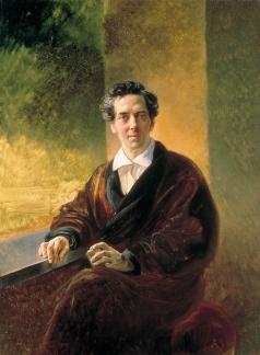 Брюллов К. П. Портрет графа Алексея Алексеевича Перовского