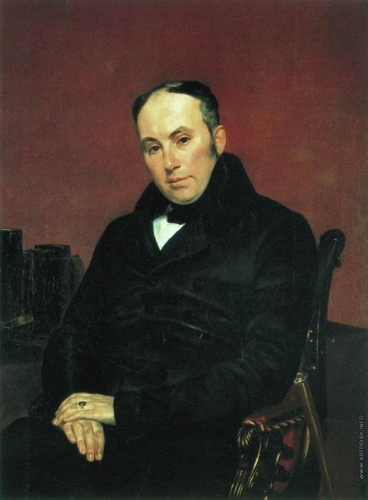 Брюллов К. П. Портрет поэта В.А. Жуковского