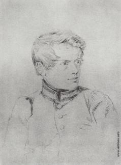Брюллов К. П. Портрет в мундире академиста
