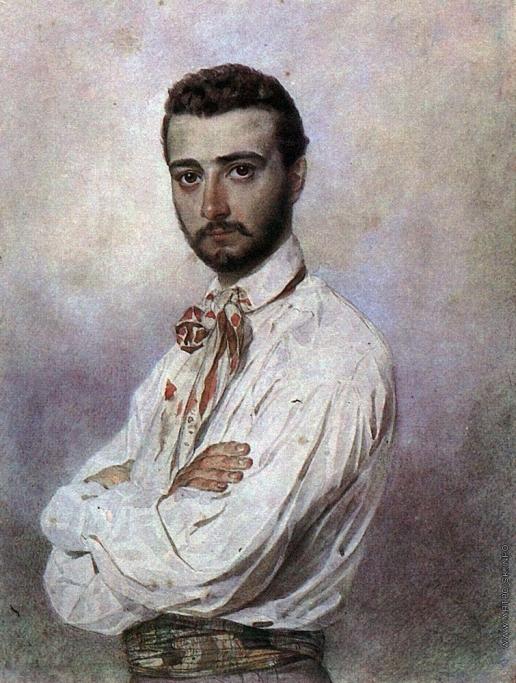 Брюллов К. П. Портрет Винченцо Титтони