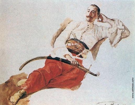 Брюллов К. П. Портрет П. А. Чихачева