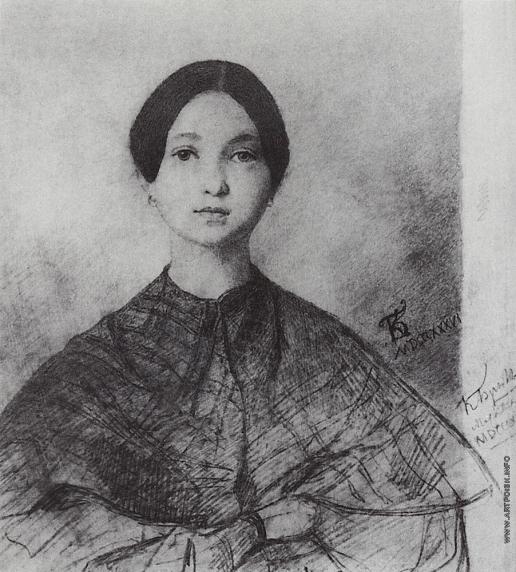 Брюллов К. П. Портрет Ю.П.Соколовой, сестры художника