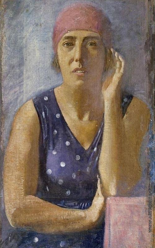 Самохвалов А. Н. Портрет Екатерины Петровны Самохваловой, жены художника
