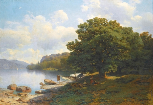 Эрасси М. С. На берегу озера