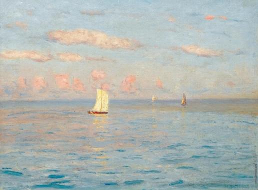 Дубовской Н. Н. Лодки в море